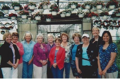 Milan Garden Club Members
